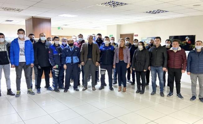 Aksaray Zabıtası'nda uyum eğitimi