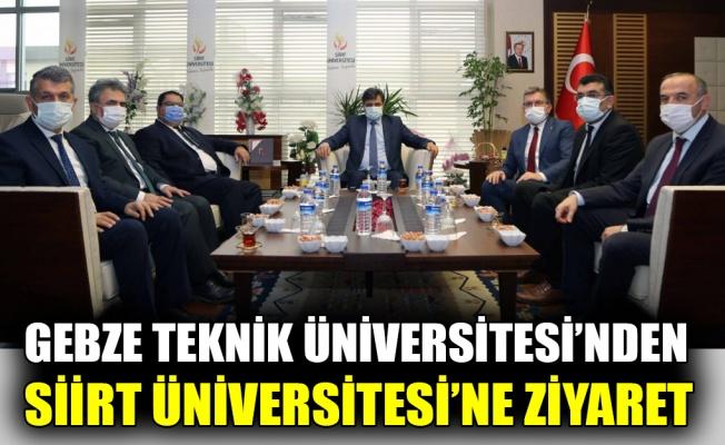 """GTÜ'den """"YÖK Anadolu Projesi"""" kapsamında Siirt Üniversitesi'ne ziyaret"""