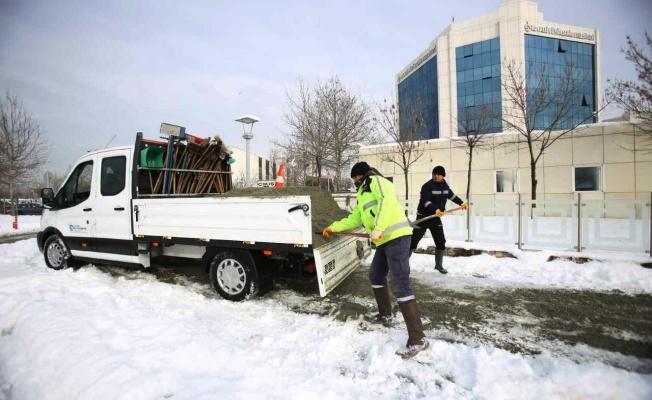 Karla mücadelede 6 bin ton tuz kullanıldı