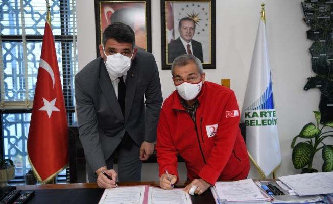 Kartepe Belediyesi ile Kızılay işbirliği güçlendi