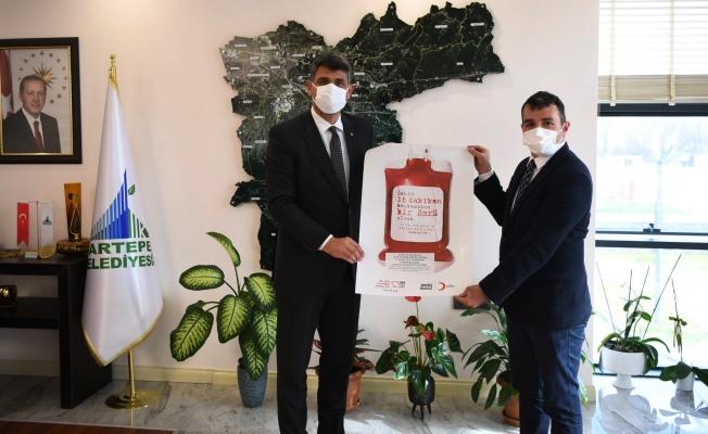 Kartepe Belediyesi'nden 3'ncü kan bağışı kampanyası