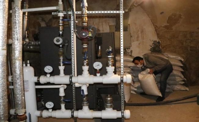 Tarihi otelden çevreci ve doğal yakıt sistemi