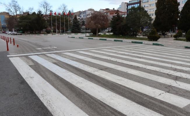 Trakya'da Kovid-19 tedbirleri kapsamındaki sokağa çıkma kısıtlamasına uyuluyor