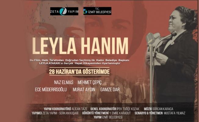 Ünlü oyuncu Naz Elmas, 'Leyla Hanım' için İzmit'e geliyor
