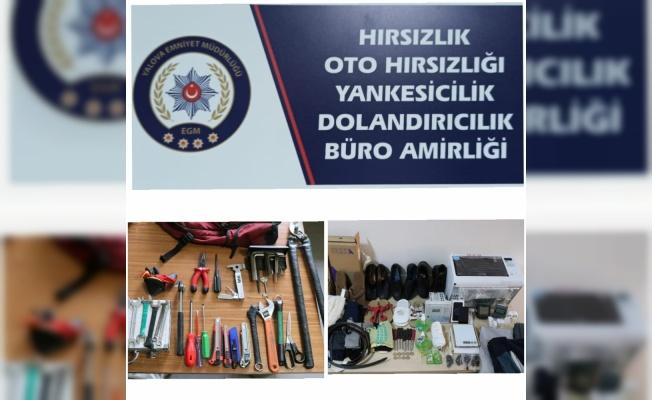 Yalova'da okul ve ikametlerden hırsızlık yapan 2 kişi tutuklandı
