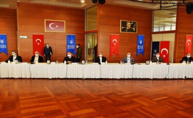AK Parti'de Bursa kurmayları buluştu