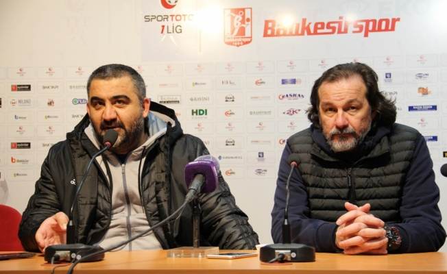 Balıkesirspor-Ankaraspor maçının ardından