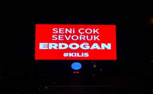 Kilis şiveli Erdoğan sevgisi