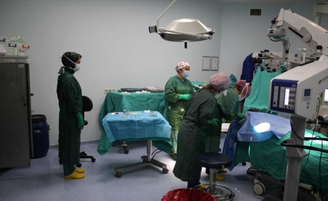 Kocaeli'nde göz ağrısından şikayet eden hastaya kornea nakli yapıldı