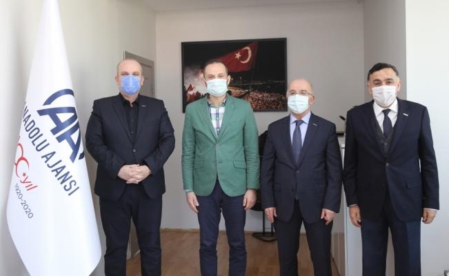 MÜSİAD Bursa Şubesinden AA Bursa Bölge Müdürlüğüne ziyaret
