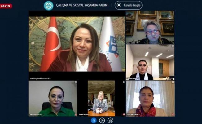 Turgut Özal Üniversitesi'nde Kadınlar Günü'ne özel e-konferans