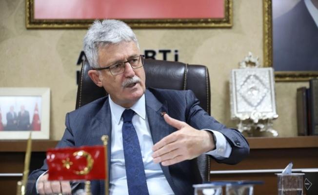 AK Parti Kocaeli İl Başkanı Ellibeş'ten 103 emekli amiralin açıklamasına tepki