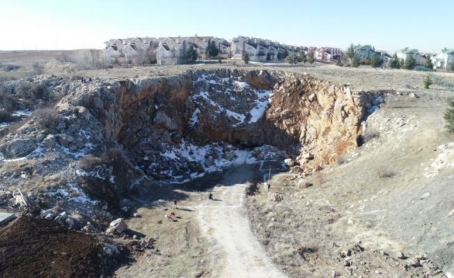 Ankara'da Tulumtaş Mağarası günyüzüne çıkıyor