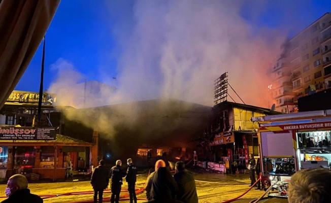 Ankara Kızılcahamam'da dükkanı yanan esnaf konuştu