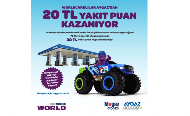 Aygaz Otogaz ve Yapı Kredi'den dev kampanya