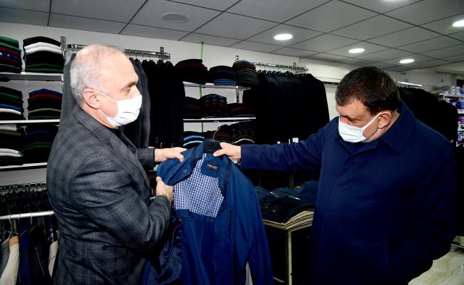 Başkan Gürkan'dan Malatya esnafı ziyareti