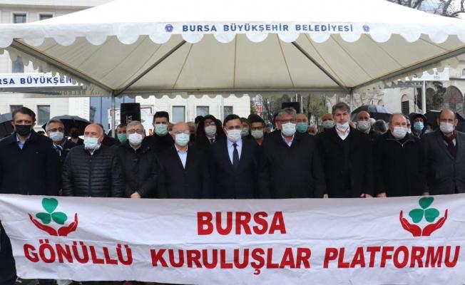 Bursa Gönüllü Kuruluşlar'dan 'hadsizlik' tepkisi!