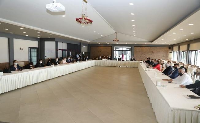 Çanakkale'de İl Pandemi ve Hıfzıssıhha Kurulu toplantısında salgınla mücadele görüşüldü