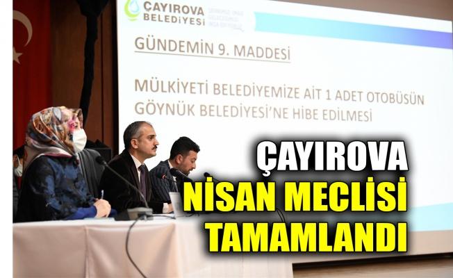 Çayırova Nisan Meclisi tamamlandı