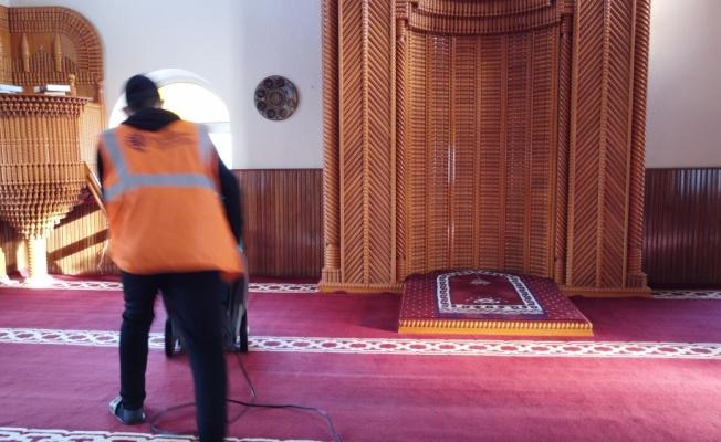 Hayrabolu'da camiler ramazana hazırlanıyor