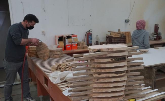 İstanbul'daki kariyerini bırakıp Balıkesir'e yerleşen kadın girişimci, ağaç dallarını ekonomiye kazandırıyor