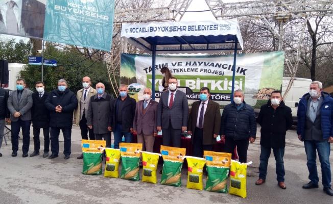 Kocaeli'de yüzde 50 hibeli tohum desteği
