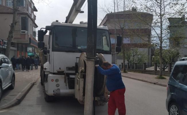 Kocaeli Gebze'de altyapı hatlarında temizlik