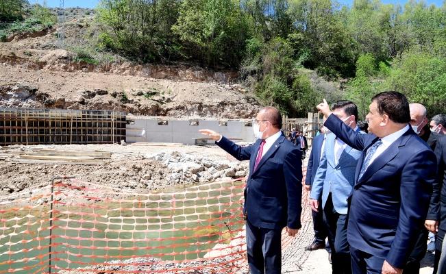 Malatya'da yeni su kaynaklarında çalışmalar sürüyor