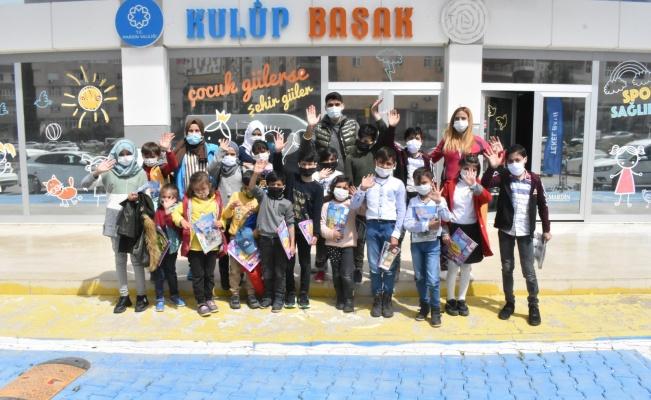 Mardin'de Suriyeli öğrenciler gönüllerince eğlendiler