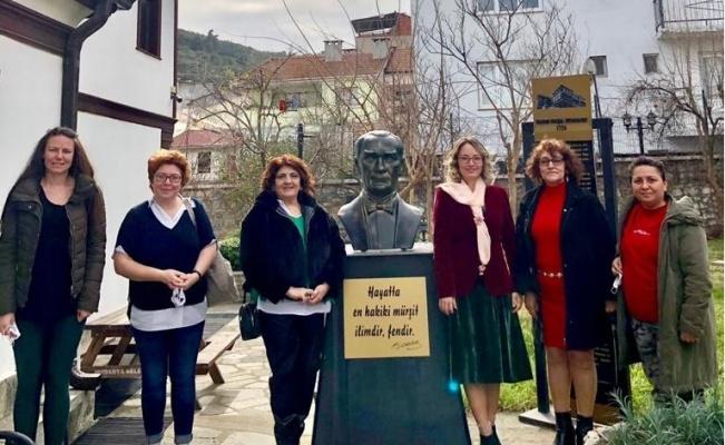 Mudanya'da kadınlardan anlamlı yardım