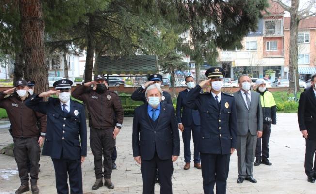 Osmaneli, Pazaryeri ve Gölpazarı'nda 10 Nisan Polis Haftası kutlandı