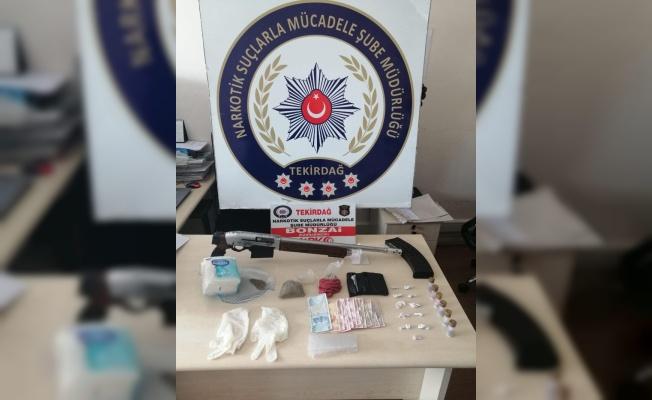Tekirdağ'da uyuşturucu operasyonunda 6 şüpheli yakalandı