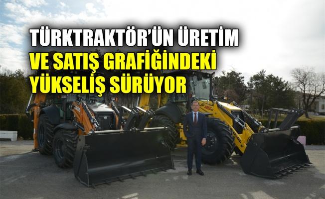Türktraktör'ün üretim ve satış grafiğindeki yükseliş sürüyor