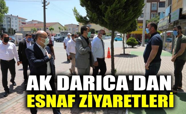 AK Darıca'dan esnaf ziyaretleri