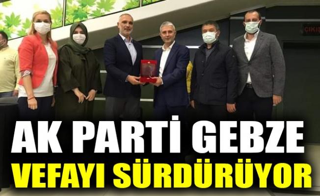 AK Parti Gebze, vefayı sürdürüyor