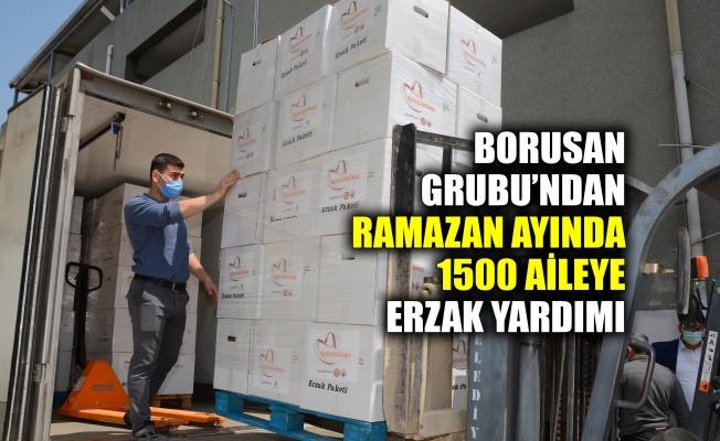 Borusan Grubu'ndan Ramazan ayında 1500 aileye erzak yardımı