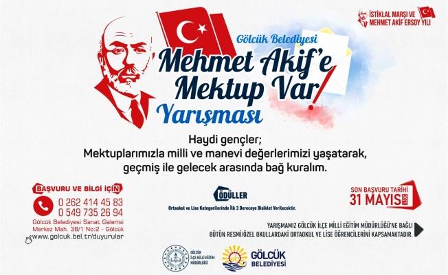 Haydi Gençler, 'Mehmet Akif'e Mektup Var' Yarışması