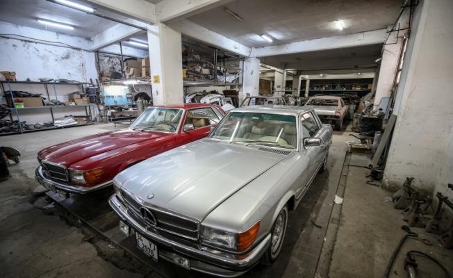 Klasik otomobilleri 3 kuşaktır hurdadan sanat eserine dönüştürüyorlar