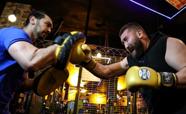 Profesyonel kick boksçu Muhammed Dursun'un hedefi