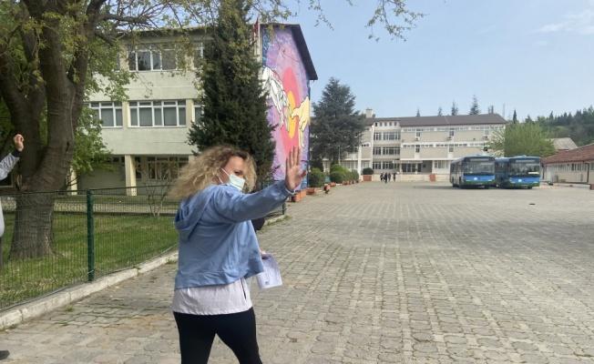 Trakya'da adaylar ALES-1 sınavına girdi