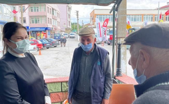 AK Parti Edirne İl Başkanı İba, Süloğlu'nda ziyaretlerde bulundu