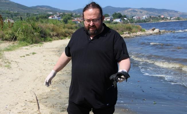 Bandırma Körfezi'nde kıyıya yakın bölgelerde müsilaj etkisi sürüyor