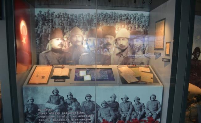 Çanakkale Savaşları Mobil Müzesi Ayvalık'ta ziyarete açıldı