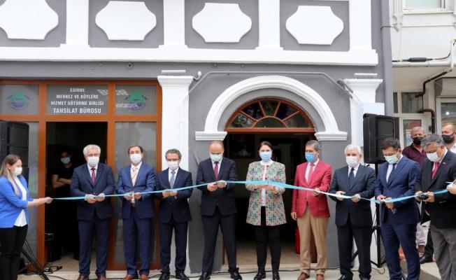 Edirne'de tarihi binalar restore ediliyor