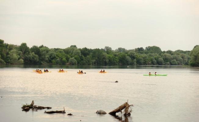 Kanocular, Meriç ve Tunca nehirlerinde kürek çekti