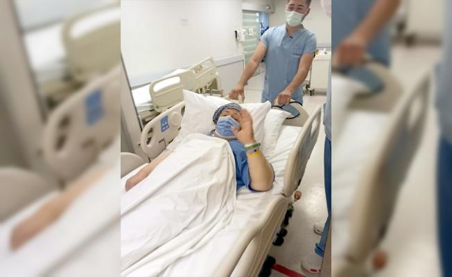 Kocaeli'de böbrek yetmezliği tedavisi gören anne, oğlundan yapılan nakille sağlığına kavuştu