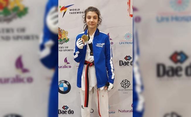 Türk Telekom'un yıldız tekvandocusu Hayrunnisa Gürbüz'den Multi Avrupa Oyunları'nda altın madalya