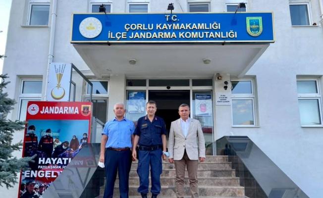 AK Parti Çorlu İlçe Başkanı Keskin bayram ziyaretlerinde bulundu