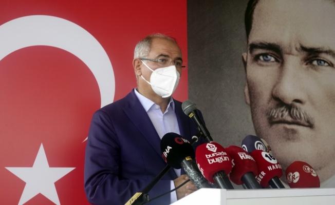 AK Parti Genel Başkan Yardımcısı Efkan Ala, Bursa'da partisinin bayramlaşma töreninde konuştu: