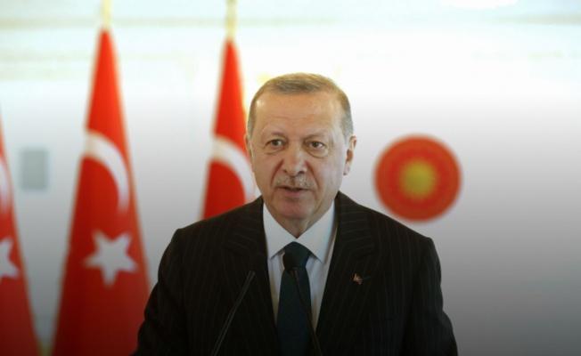 Cumhurbaşkanı Erdoğan'dan videolu mesaj
